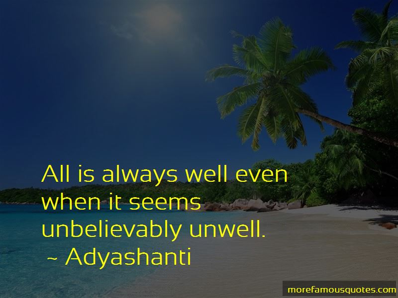 Unwell Quotes Pictures 3
