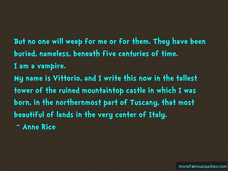 Vittorio The Vampire Quotes