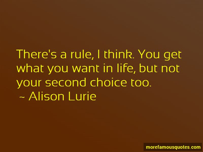 Your Second Choice Quotes Pictures 2