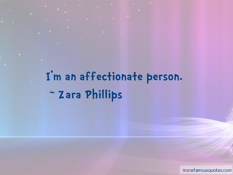 Affectionate Person Quotes