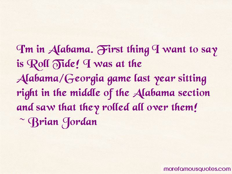 Alabama Roll Tide Quotes