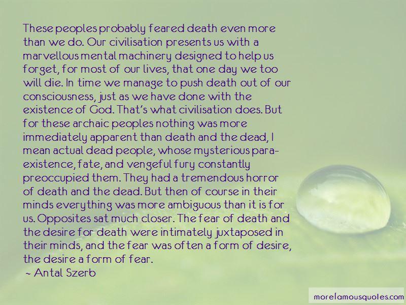 Ambiguous Death Quotes