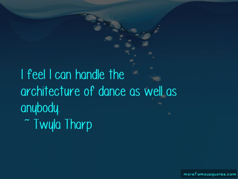 Anybody Can Dance Quotes