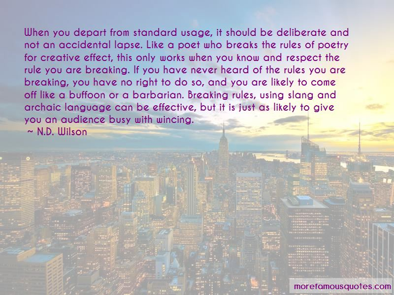 Archaic Language Quotes