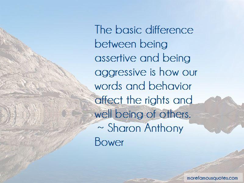 Assertive Behavior Quotes