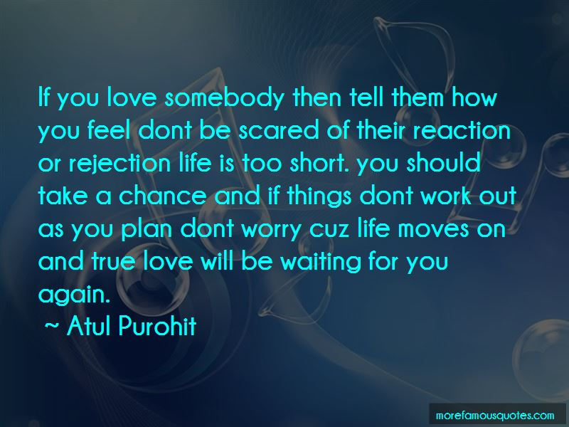 Don't Be Scared To Love Again Quotes: Top 1 Quotes About