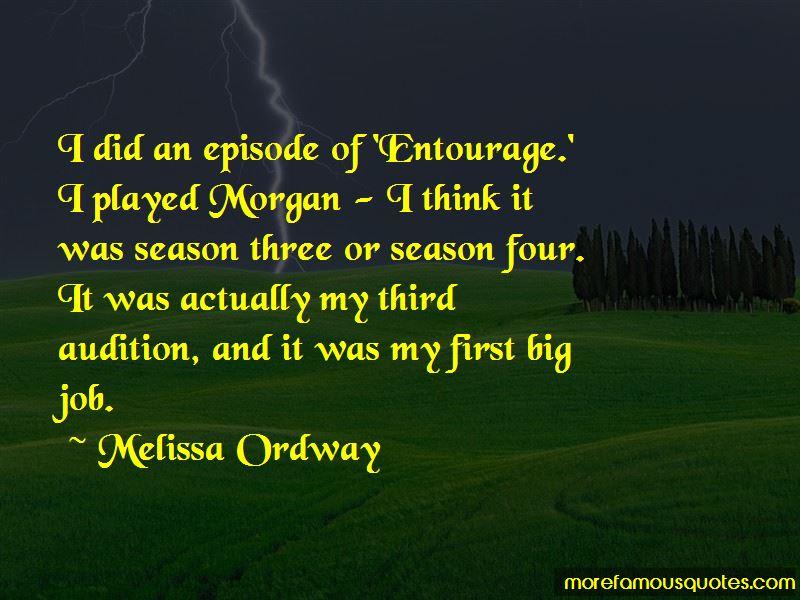 Entourage Season 1 Episode 2 Quotes
