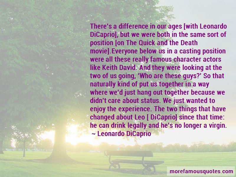 Famous Leonardo Dicaprio Movie Quotes