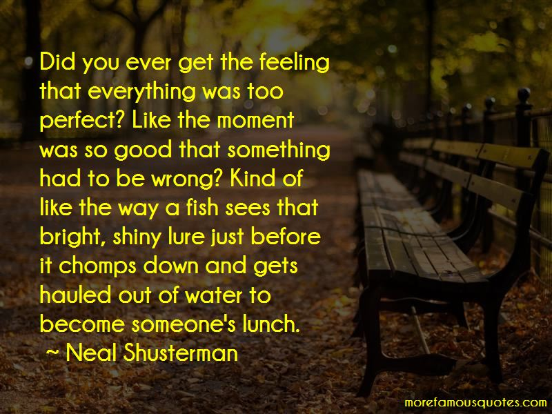 Feeling Something Wrong Quotes