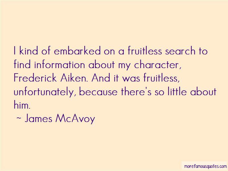 Frederick Aiken Quotes