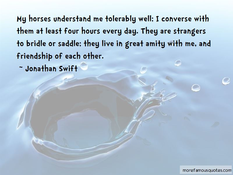 Friendship With Horses Quotes