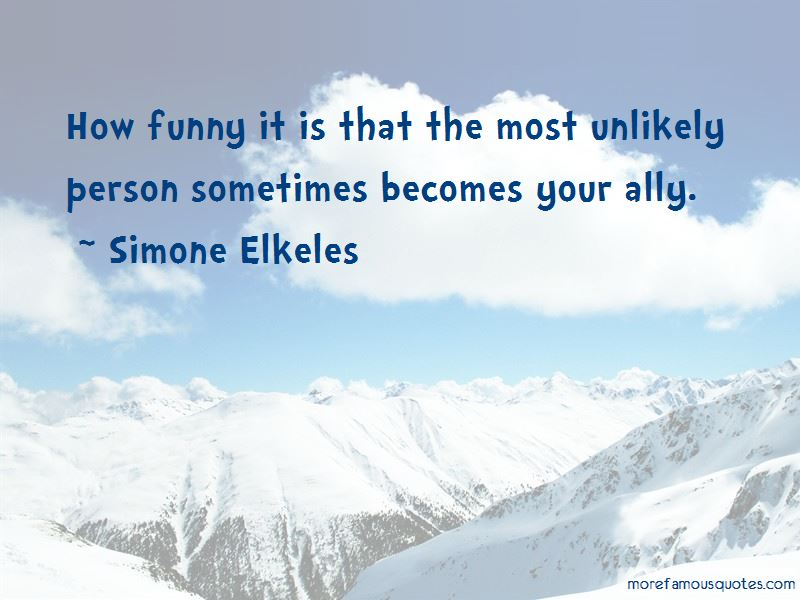 Funny Unlikely Quotes