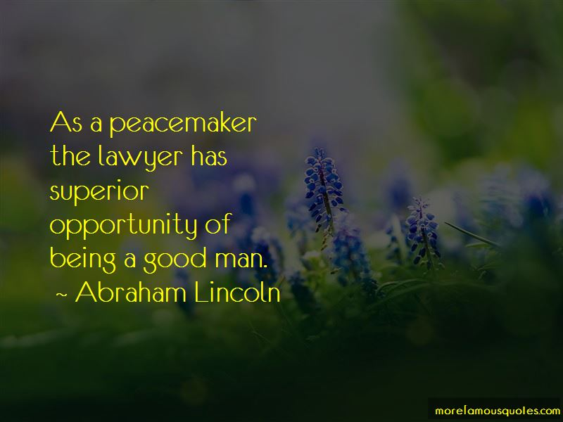 Good Peacemaker Quotes