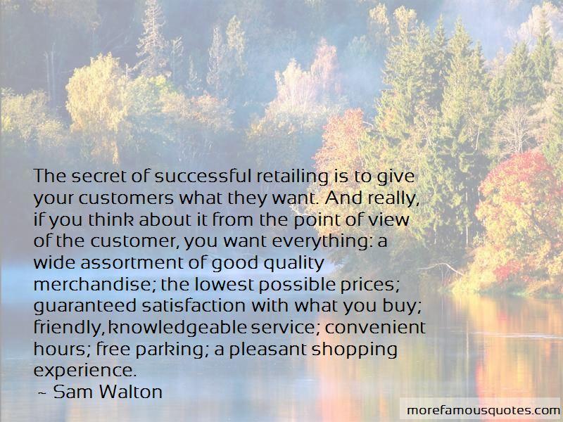Good Retailing Quotes Pictures 2