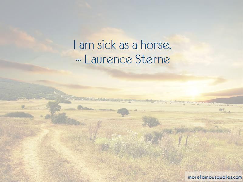 I Am Sick Quotes