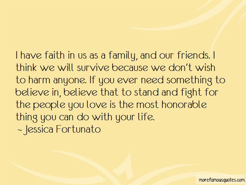 I Have Faith In Us Quotes