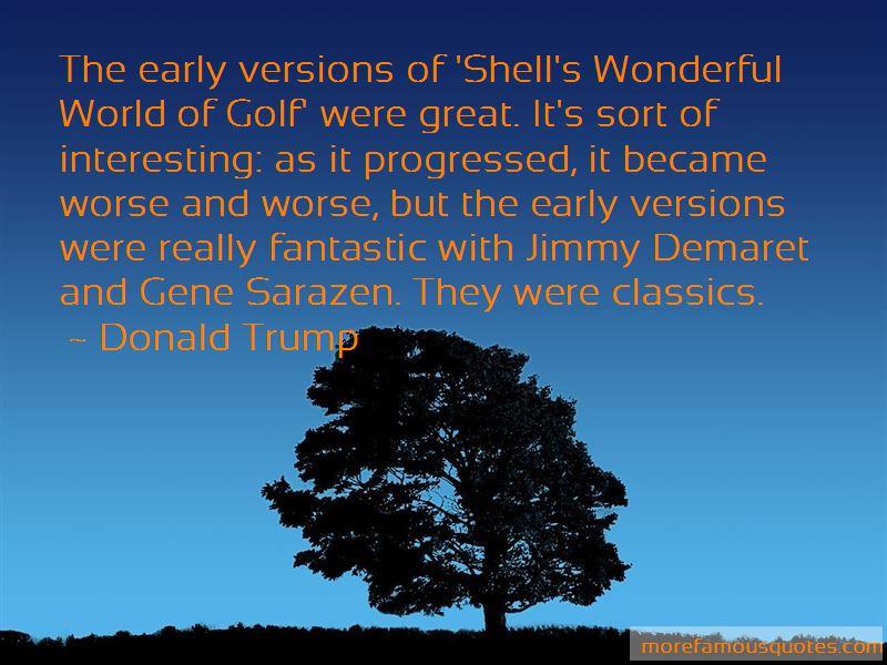Jimmy Demaret Golf Quotes