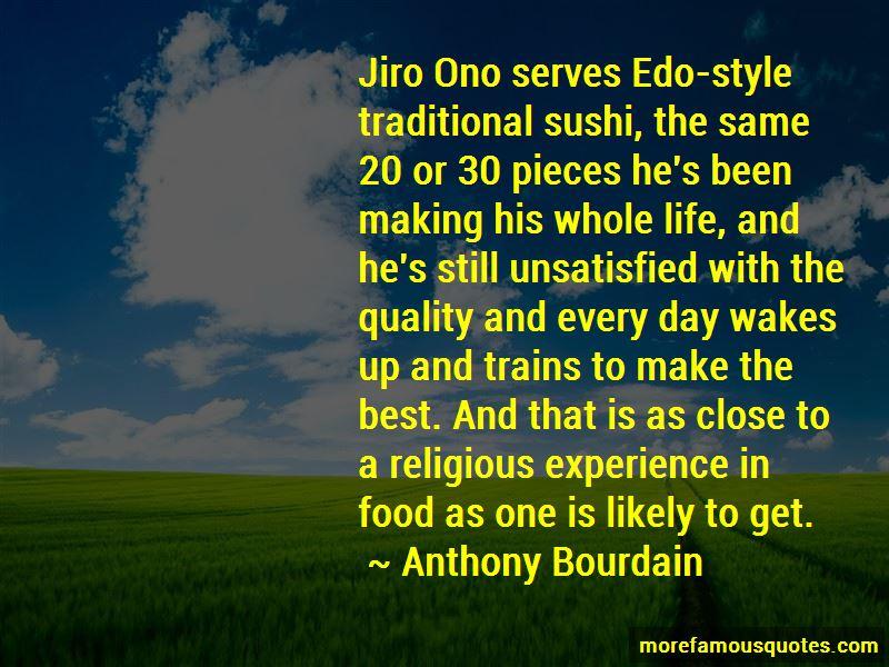 Jiro Sushi Quotes