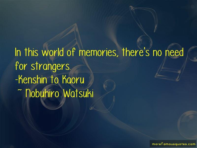 Kenshin Kaoru Quotes