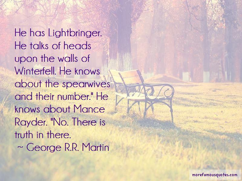 Lightbringer Quotes