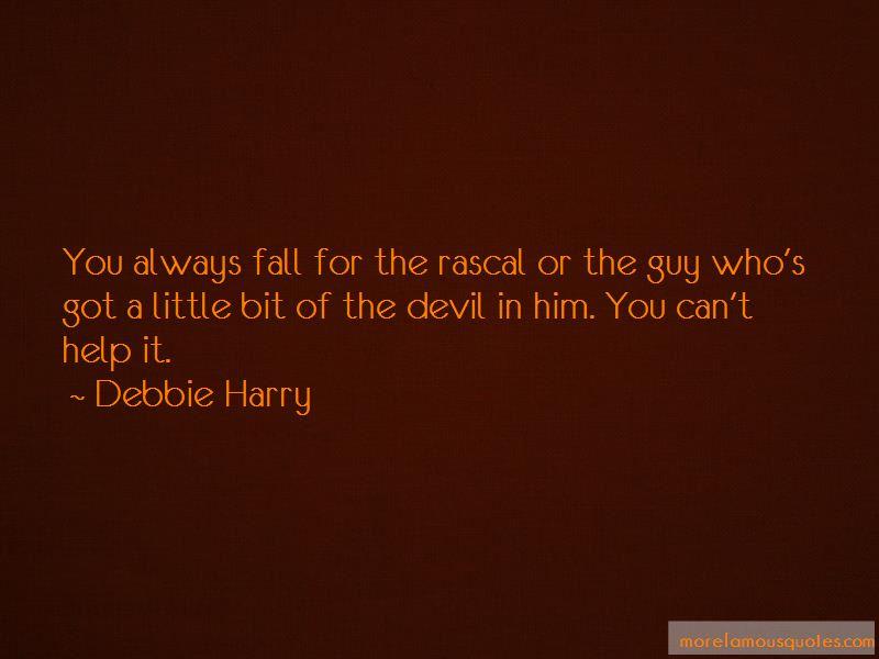 Little Bit Of Devil Quotes