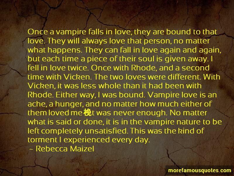 Love Happens Twice Quotes