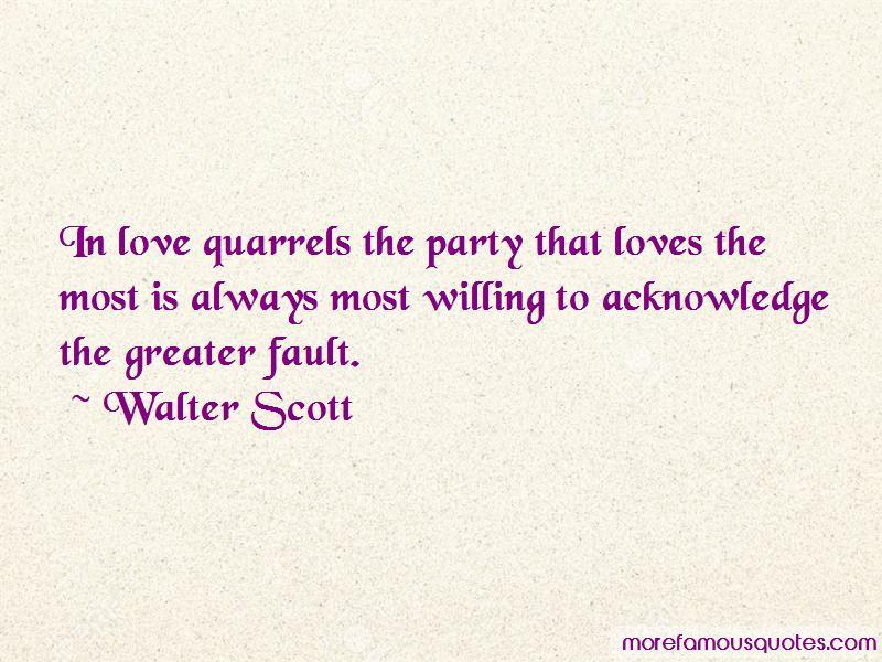 Love Quarrels Quotes
