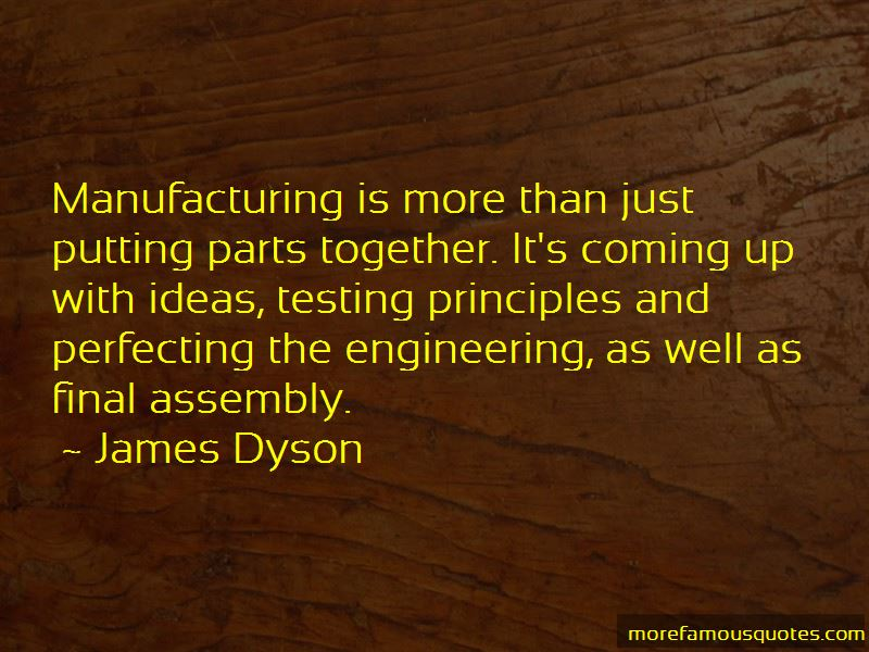 Manufacturing Engineering Quotes Pictures 4