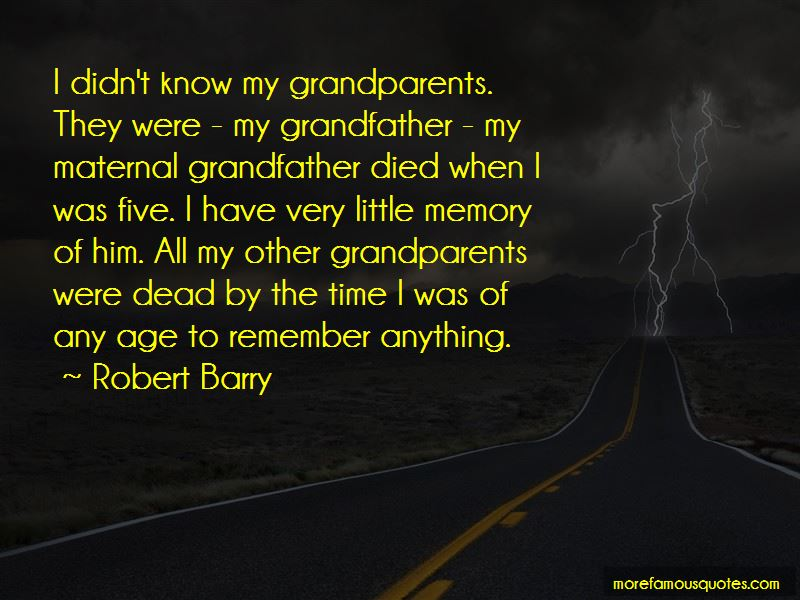 Maternal Grandfather Quotes