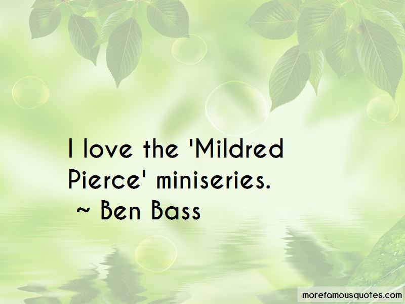 Mildred Pierce Quotes