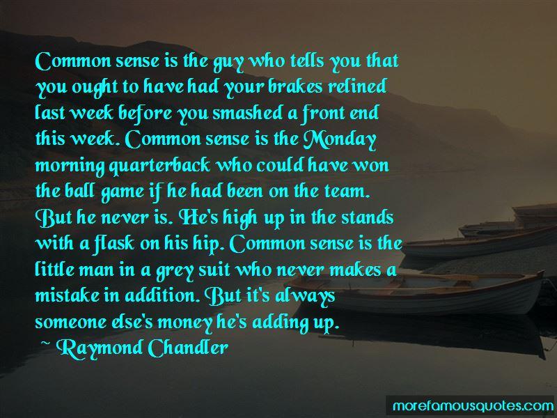 Monday Morning Quarterback Quotes