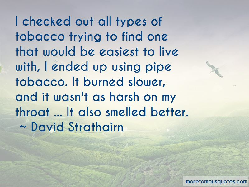 Pipe Tobacco Quotes Pictures 2