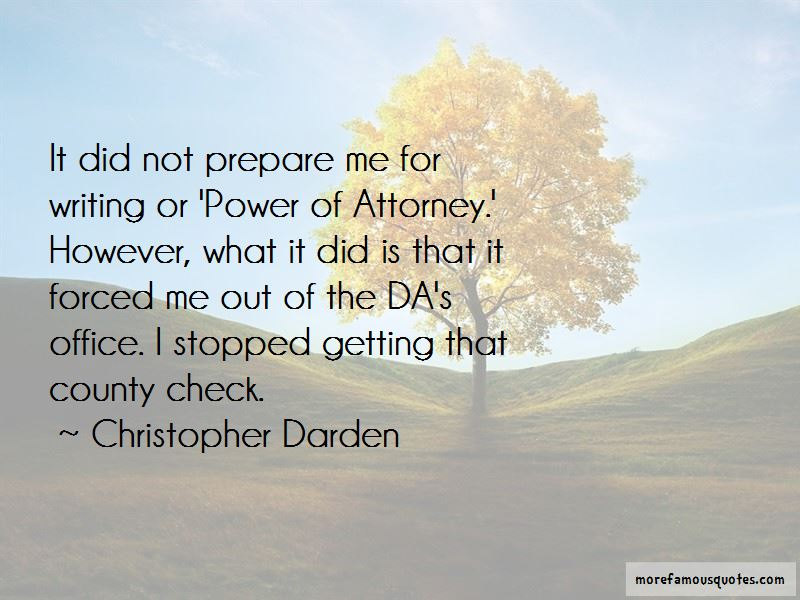 Power Of Attorney Quotes