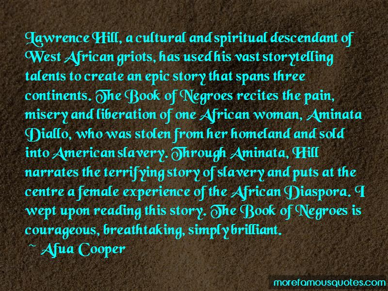 Quotes About Aminata Diallo
