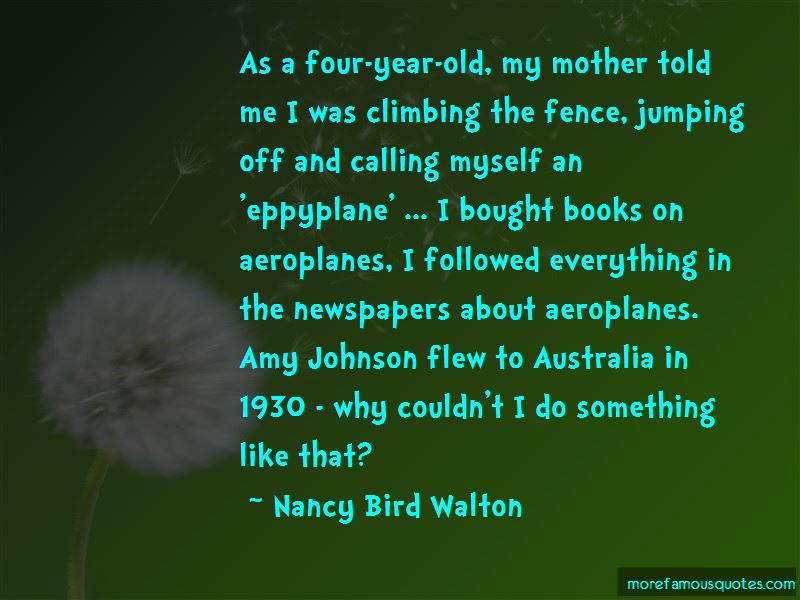 Quotes About Amy Johnson