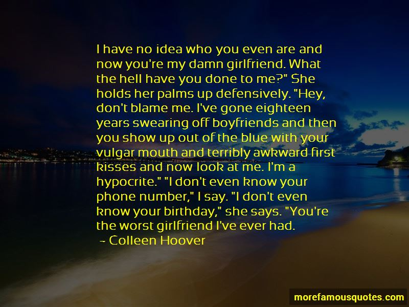 Quotes About Awkward First Kisses