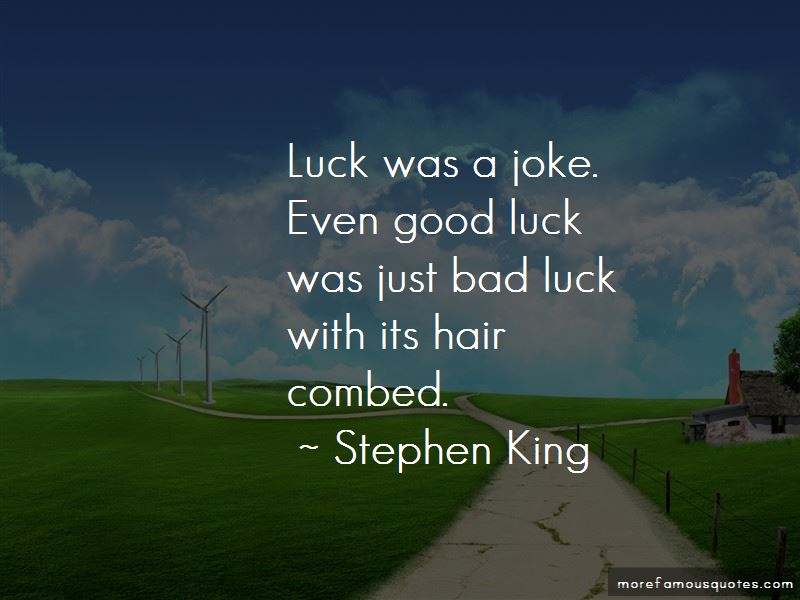 Bad Luck To Good Luck Quotes Pictures 2