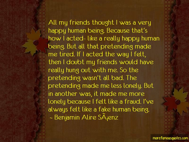 Quotes About Being Fake Friends