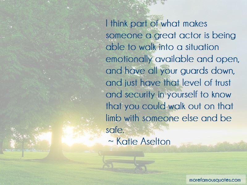 Quotes About Being Safe With Someone