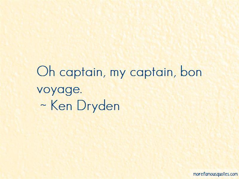 Quotes About Bon Voyage