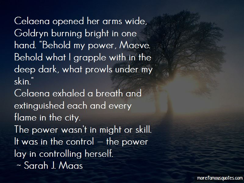 Quotes About Burning Bright