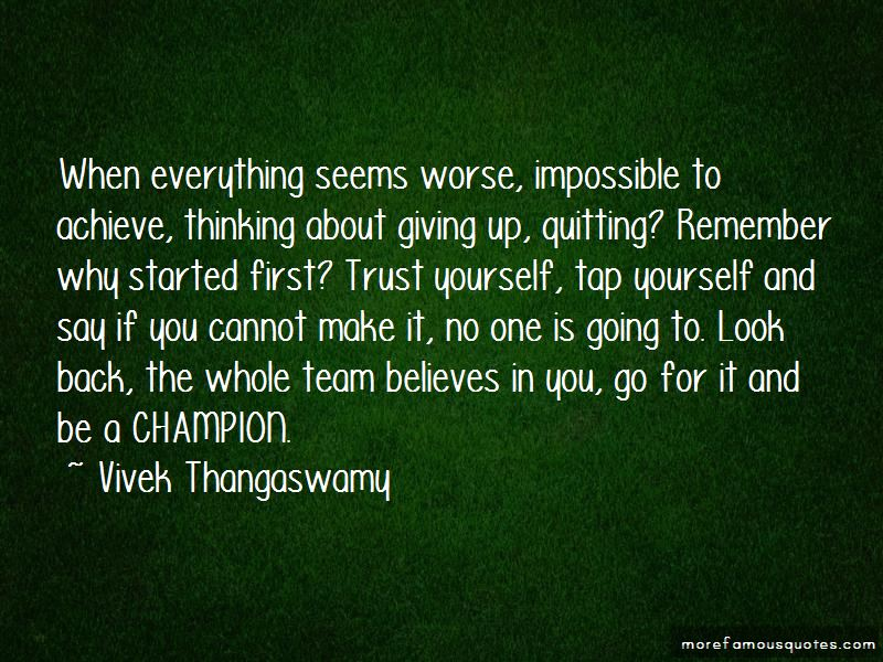 Quotes About Champion Team