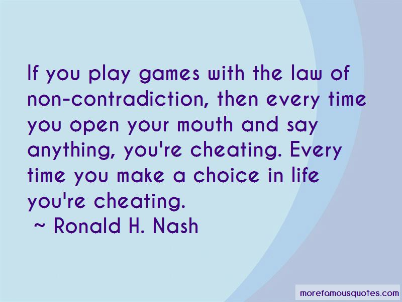 Quotes About Cheating In Life: top 31 Cheating In Life