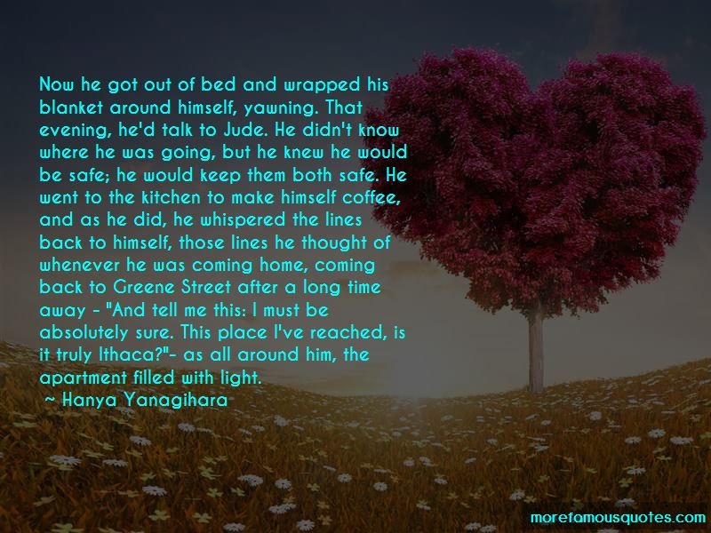 Quotes About Coming Home After A Long Time