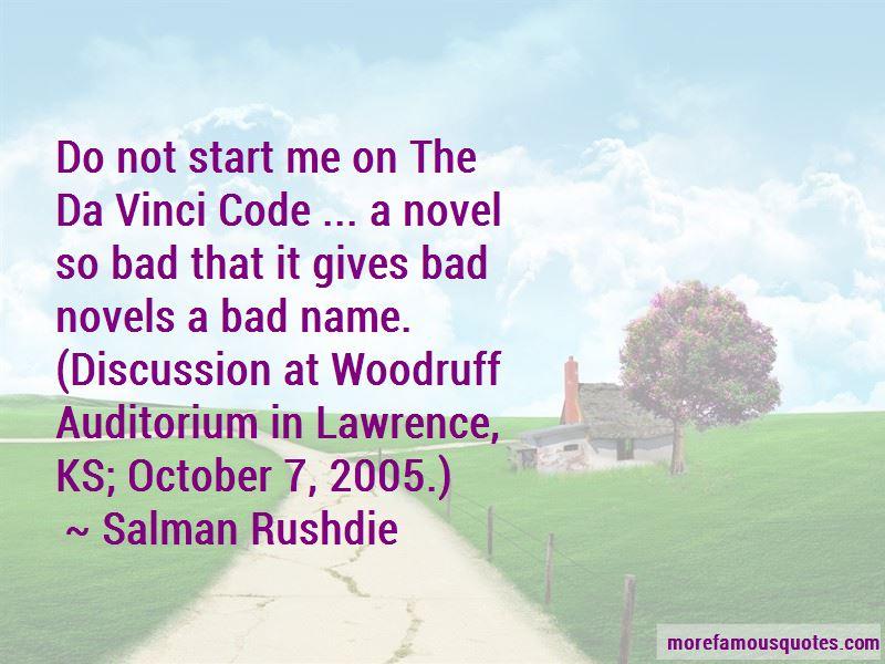 Quotes About Da Vinci