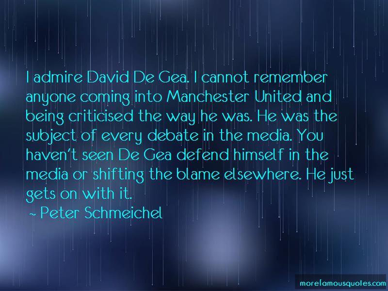 Quotes About David De Gea