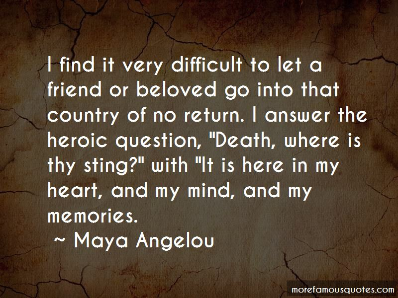 Quotes About Death Of A Friend Memories