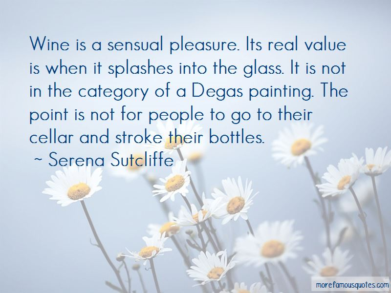 Quotes About Degas