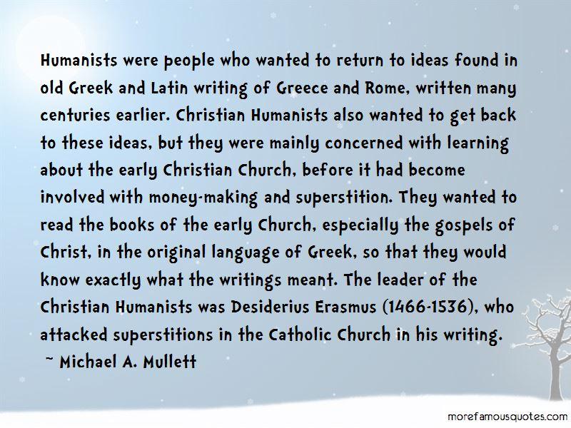 Quotes About Desiderius Erasmus