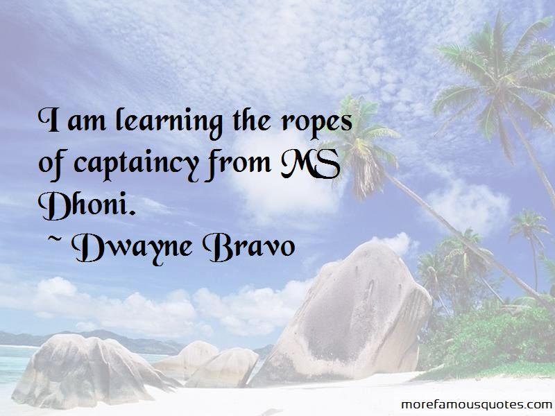 Quotes About Dhoni Captaincy